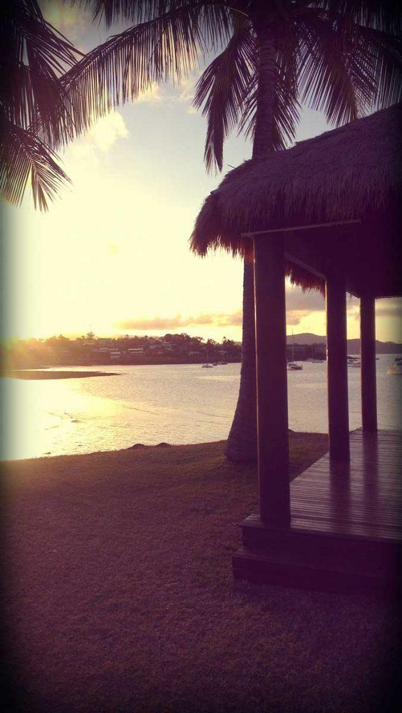 Tropical-Whitsunday-Sailing-Club-Pavilion-At-Sunset