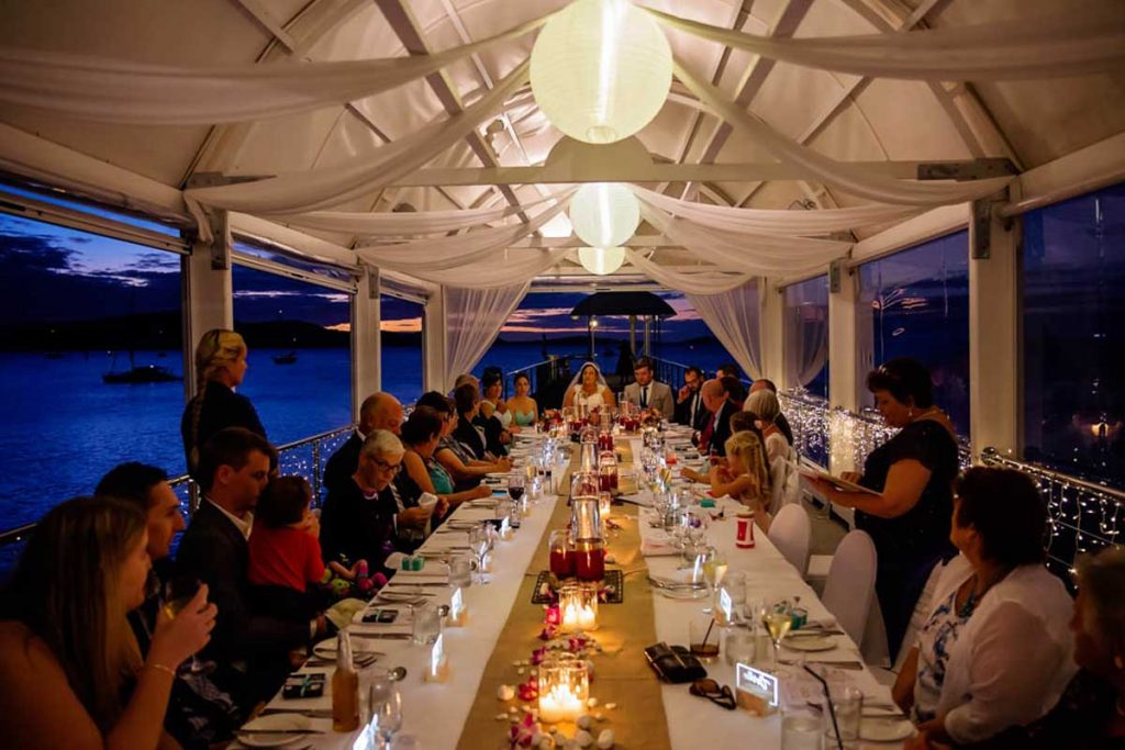 Coral-Sea-Resort-Jetty-Intimate-Wedding-Reception