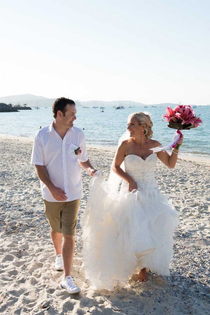 Bride-And-Groom-Boathaven-Beach-Whitsundays